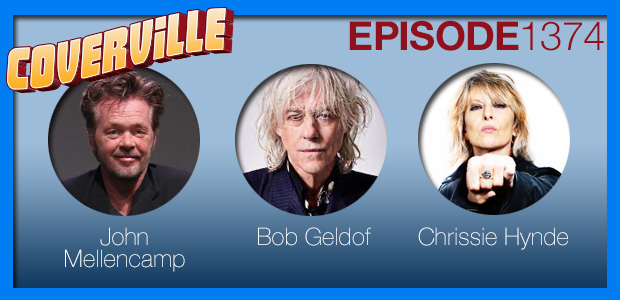 Coverville  1374: Cover Stories for John Mellencamp, Bob Geldof and Chrissie Hynde